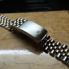 1979 Rolex 62523H 18Kt And Steel Jubilee Bracelet 455 End Pieces 20mm. Genuine.