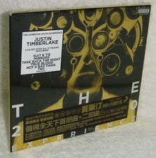 Justin Timberlake The 20/20 Experience Complete Experience Taiwan 2-CD w/sticker