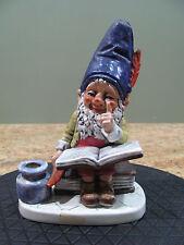 Goebel Gnome Co-Boy Well  #510 TMK 4 Bob The Bookworm 1970 Gnome, USC#159