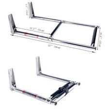 NICE!!! 2 Steps Stainless Steel Telescoping Boat Platform Ladder - AM