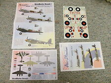 Aeromaster  decals 1/48 48- 427 Mosquito Raiders Part III   N128