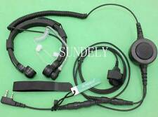 Sundely Military Throat Mic Headset/Earpiece for Wouxun KG-UV2D KG-UV3D KG-UV5D