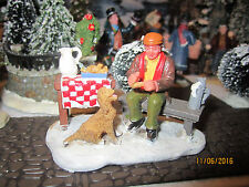 """TRAIN GARDEN VILLAGE HOUSE """" MARKET PLACE FISH and CHIPS + DEPT 56/LEMAX info"""