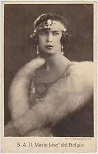 S.A.R. MARIA JOSE' DEL BELGIO - REALI 1930