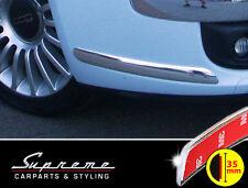 FIAT 500 & Cabrio 3M molduras cromadas Tuning 2x Parachoques
