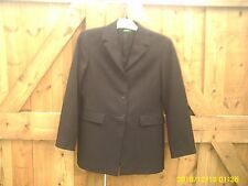 BENETTON SIZE 42 WOMENS JACKET MADE IN ITALY