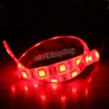 Red LED strip light modding PC Case 30cm 18 led long with molex connector