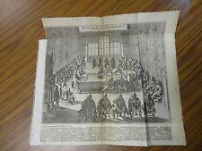 """1640 Meeting from 1745 Johann Ludwig Goffrieds """"Historische Chronica"""""""