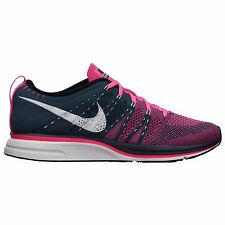 NIKE FLYKNIT TRAINER+ SHOES MENS SIZE 10.5 or WOMENS 12 squadron blue 532984 416