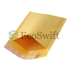 5 #2 8.5x12 KRAFT BUBBLE MAILERS PADDED ENVELOPES DVD