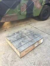 Right Rear Underbody Armor - HMMWV M998 Hummer - BAE Survivability Systems Plate