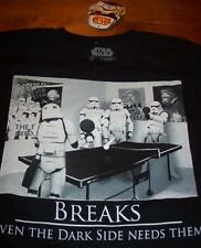 FUNNY STAR WARS STORMTROOPERS PLAYING PIN PONG T-Shirt SMALL NEW w/ TAG