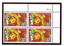 US  3370  Year of the Dragon 33c - Plate Block of 4 - MNH - 2000 - P2222  UR