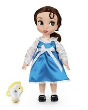 Disney Animators Collection Doll Belle Blue Dress Beauty And The Beast