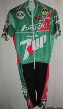 Vintage 1988 FANINI 7UP Seven Up GIESSEGI CYCLING TEAM SKINSUIT Size 5