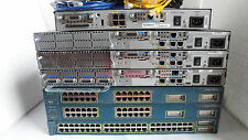Cisco CCNA CCNP CCSP CCIE Home Lab Kit 2650XM 2610XM 1841 Or 2811