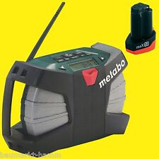 Metabo Akku-Baustellenradio PowerMaxx WILD CAT RC Radio 10,8 Volt