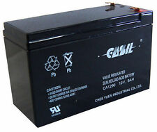 Casil CA1290 12v 9ah for SLA Battery Replaces CP1290 6-DW-9 HR9-12 PS-1290F2