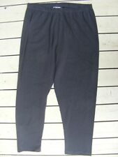 Rockmans Quality CHARCOAL GREY Leggings 7/8 LENGTH. Size L-16. NEW