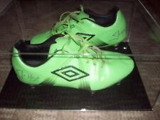 Joe Hart signed Umbro football boots