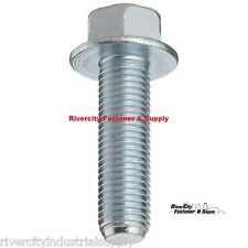 (100) M6-1.0 x 16 or M6x16 6mm x 16mm J.I.S. Small Head Hex Bolt 10.9 Zinc