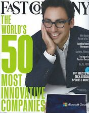 Fast Company Magazine March 2015 50 Most Innovative Companies Google Apple HBO