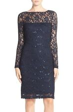 JS Collections Illusion Lace Dress Size 10 #A96