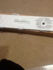 GE WH42X10024 CONTROL PANEL ASSEMBLY NO ELECTRONICS