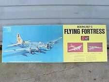 LG Vintage Sterling Boeing B17 G Flying Fortress Balsa Wood Airplane Model Kit