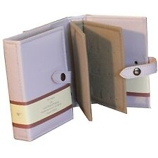 Small Little Book Of Earrings Lilac 2 Page Jewellery Box Book Travel Size Gift