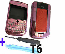 For Blackberry 9630 Tour Housing Keypad Fascia Cover Keypad  + Tools Pink UK