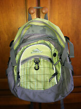 High Sierra backpack outdoor hiking camping school book bag over the shoulder