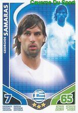 GEORGIOS SAMARAS # HELLAS CARD CARTE MATCH ATTAX STARS MONDIALE 2010 TOPPS