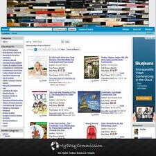Books Website FREE Domain Name Automated Amazon Affilliate Adsense