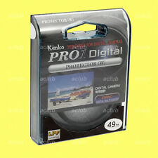 Genuine Kenko 49mm Pro1 D Pro 1 Digital Lens Protector Clear Filter Pro1D Pro 1D