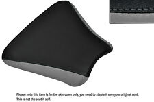 DESIGN 2 BLACK & GREY CUSTOM FITS HONDA CBR 250 MC 22 FRONT LEATHER SEAT COVER