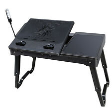 Multi-function laptop table Tray Desk W/Cooling Fan Desk Stand Bed Sofa Couch