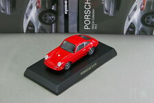 Porsche 911R red 1/64 Kyosho Minicar Collection Japan Limited 2009