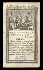 santino incisione 1700 S.PIPINO DI LANDEN