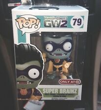 FUNKO POP PLANTS VS ZOMBIES GW 2 EXCLUSIVE SUPER BRAINZ BRAINS VINYL FIGURE #79