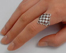 USA Seller Oxidized Ring Sterling Silver 925 Plain Best Deal Jewelry Size 11