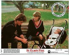 Color, ROB LOWE Jenny Wright & baby still ST. ELMO'S FIRE (1985) mini lobby card