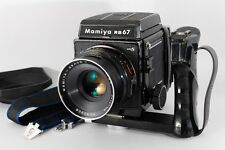 Exc++ Mamiya RB67 Pro S with Sekor C 127mm f3.8  Lens with Grip from Japan a083