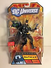 "2010 MATTEL DC UNIVERSE CLASSICS BATMAN ALL-STAR FIGURE 1 BLACK SUIT 6"" MIB"