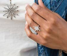 "Park Lane ""STELLAR"" RING w/ mini Sparkling CZs - Star Shape - Orig $44 -  Sz 8"