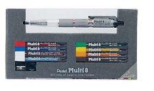 Pentel Pencil Lead Holder and Lead Set Multi 8 Set PH802ST Japan
