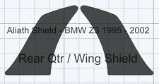 BMW Z3 Rear Qtr Pair clear Or black Textured Stone guard Protection Decals Foils