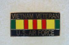 US USA USAF Air Force Vietnam Veteran Military Hat Lapel Pin