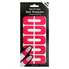 10X Peel Off  Nail Art Tips Tape Palisade Cuticle Sticker Polish Hedge Base Coat