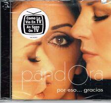 Pandora Por Eso Gracias   BRAND NEW SEALED  CD